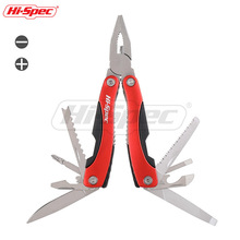Hi-Spec 15 In 1 Pocket Multitool Pliers With Sheath Knife Pliers Saw Screwdriver Scissors Outdoor Camping Tools Multi Tool multifunctional camping tool multi purpose pliers knife hammer saw screwdriver multifunctional pliers free shipping