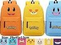 Pokemon Pikachu Oxford Backpack Students Shoulders Bag Pocket Monster Gengar Schoolbags Laptop Bags