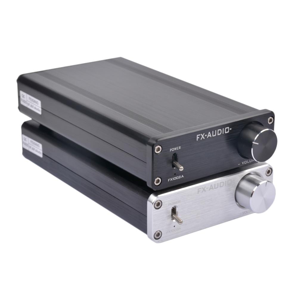 FX-Audio FX1002A 160Wx2 TDA7498E TL082 NE5532 Pure Digital Audio Amplifier High-power Mini Home Hifi Amplifier No Adapater amplifiers 2017 fx audio fx1002a 160w 2 tda7498e hifi 2 0 pure digital audio power amplifier mini home aluminum enclosure amp
