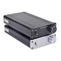 FX Audio FX1002A 160Wx2 TDA7498E TL082 NE5532 Pure Digital Audio Amplifier High power Mini Home Hifi Amplifier No Adapater