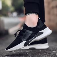 2017 New Style Running Shoes For Athletic Shoes Men Light Soft Outdoor Free Racer Sneakers Black
