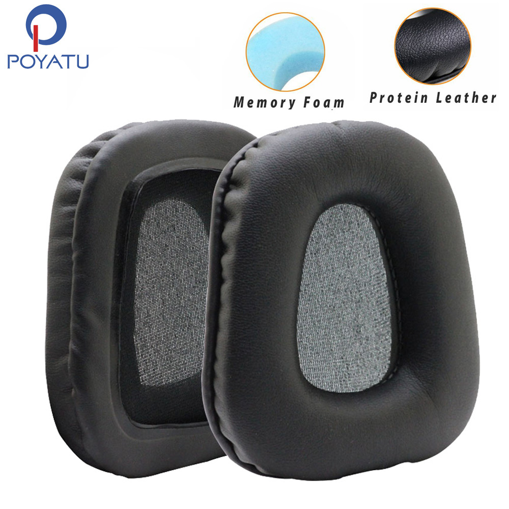 Poyatu Soft Earpads for Logitech G35 G930 G430 F450