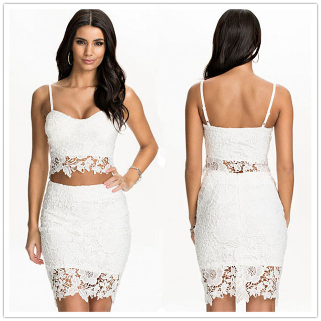 Lace Two-Piece Dresses