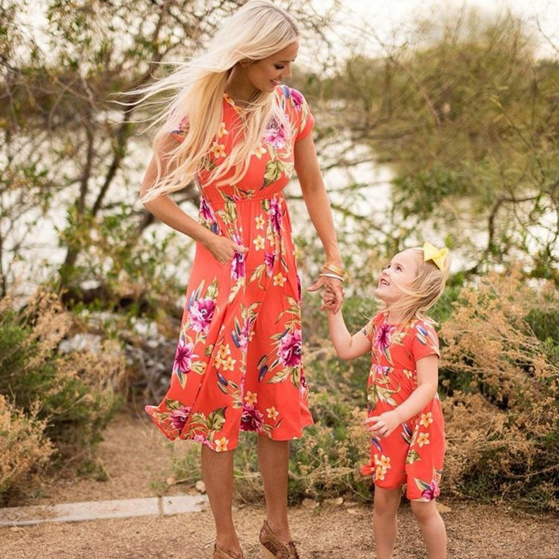 Beach, Swimwear, Look, Family, Sleeve, Floral
