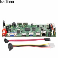 GADINAN Security 16CH 4MP CCTV NVR Main Board Hi3798C Processor Network Recorder NVR Support Wifi 3G