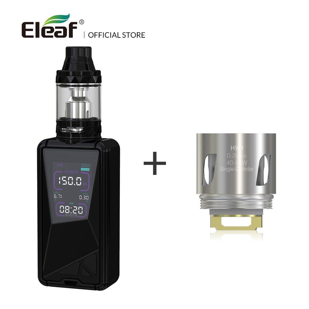 Originale Eleaf TESSERA con ELLO TS kit con 5 pz HW1/HW2 bobina built-in 3400 mah batteria 150 w sigaretta elettronica vape kit