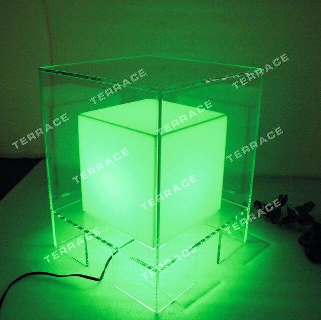 aliexpress koop led lucite nachtkastjes acryl verlichting