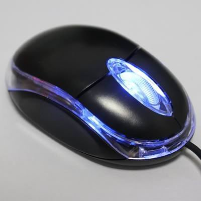 Wholesale New Dropship 5 Pieces/LotUSB 3D Optical Scroll Wheel Mini MOUSE for PC Laptop