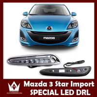 High Quality 1 Set Car Accessories LED Daytime Running Lights White DRL Auto Fog Lamp Headlight