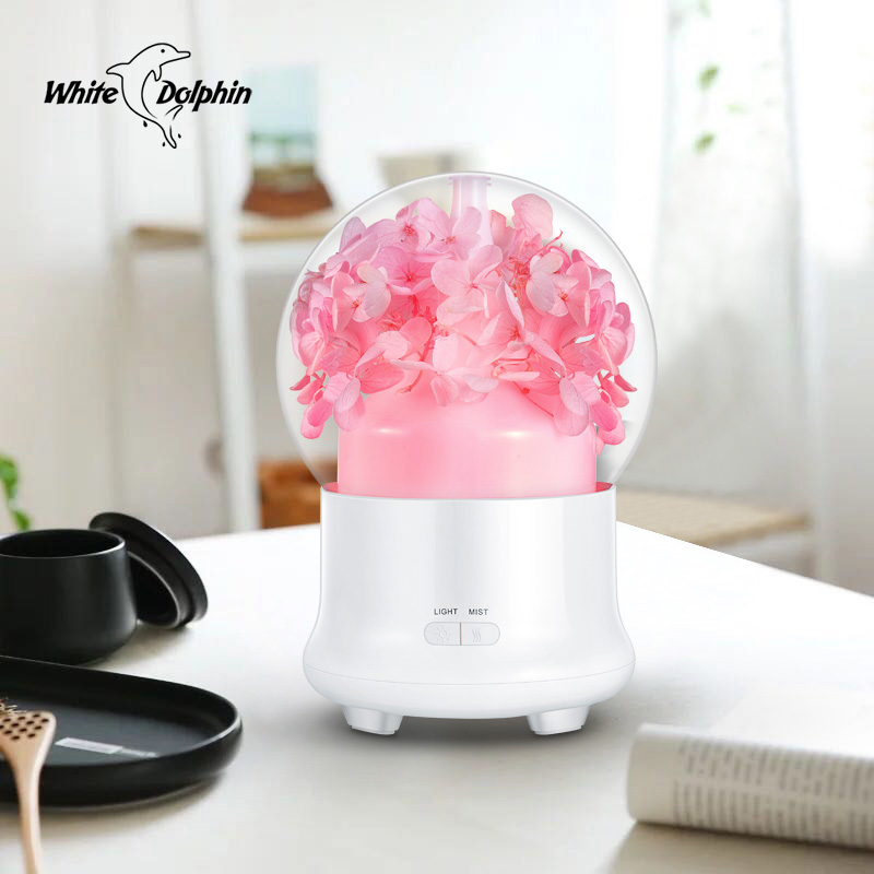 Aroma Essential Oil Diffuser Ultrasonic Air Humidifier 7Color Changing LED Lights Electric Air Purifier Aromatherapy Humidifier