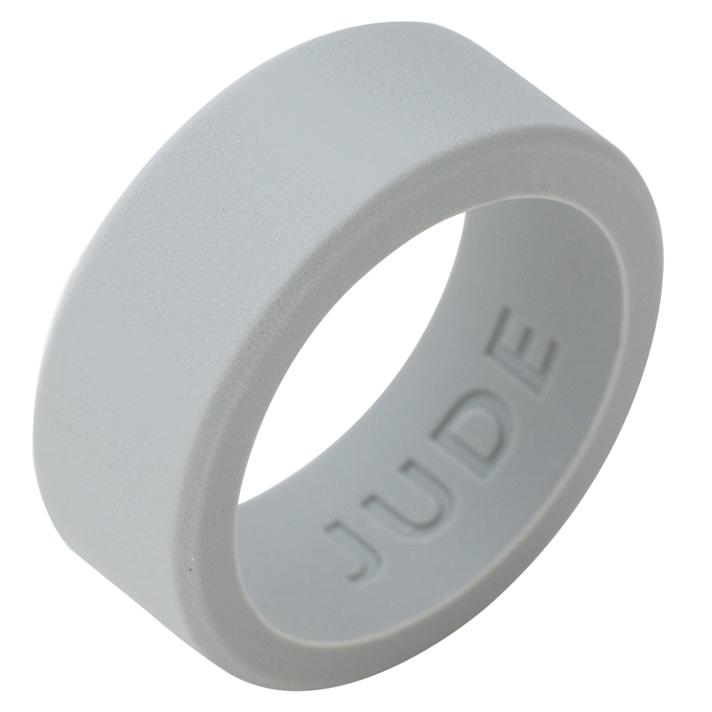 9MM Size 5 15 Silicone Ring Matte Black Wedding Band Plain Crossfit