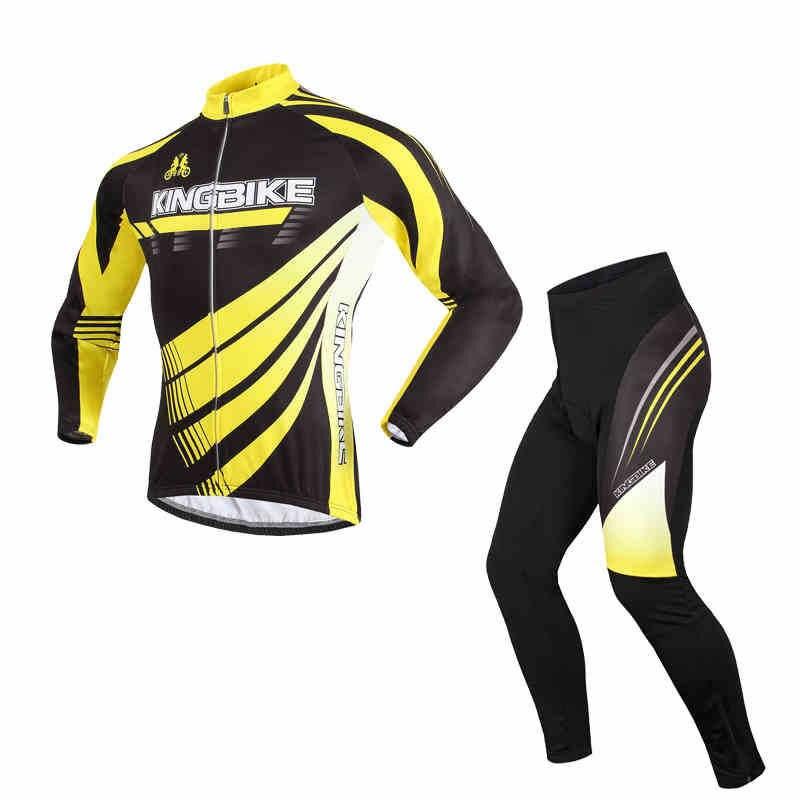 BATFOX Autumn And Winter Cycling Jerseys Fleece Suit Men And Women Long Sleeve Cycling Wear Cycling Equipment Ropa Ciclismo 727A