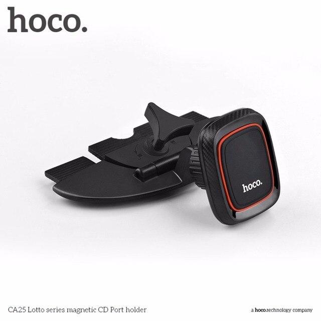 HOCO Универсальный Магнитный слот CD автомобильный держатель для телефона вращение на 360 градусов планшеты держатель для телефонов подставка подходит для iPhone
