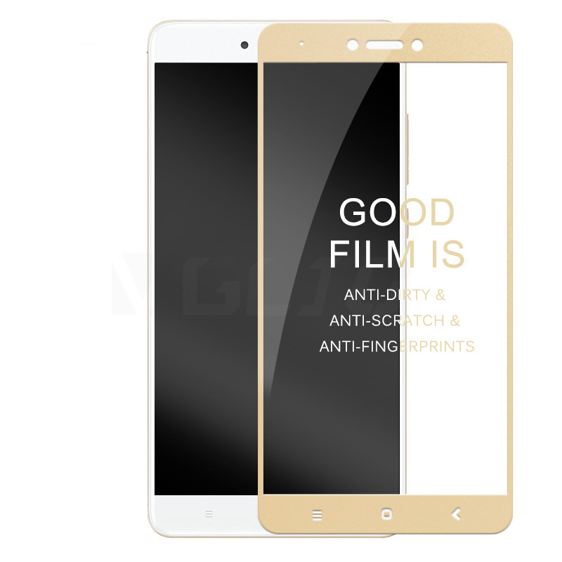 3D Full Cover Tempered Glass On The For Xiaomi Redmi Note 4 4X Redmi Note 4X Pro Note 4 Global Version Screen Protective Film