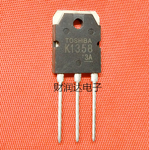 The new 2SK1358 K1358 TO-3P FET spot can be directly shot Quality assurance