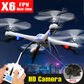 Original Tarantula X6 Yizhan New Version 6-Axis 4CH RC Quadcopter Drone RTF 2.4G Can Add 5MP HD Camera Helicopter VS JJRC H16