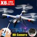 Tarantula Original X6 Yizhan Nova Versão 6-Axis 4CH RC Quadcopter Zangão RTF 2.4G Pode Adicionar Câmera de 5MP HD Helicóptero VS JJRC H16