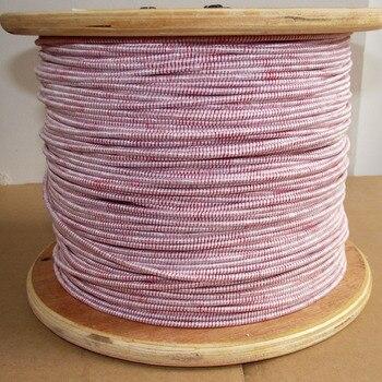цена на 0.1x800 strands Litz wire multi-strand copper wire polyester silk envelope envelope yarn 1 meter