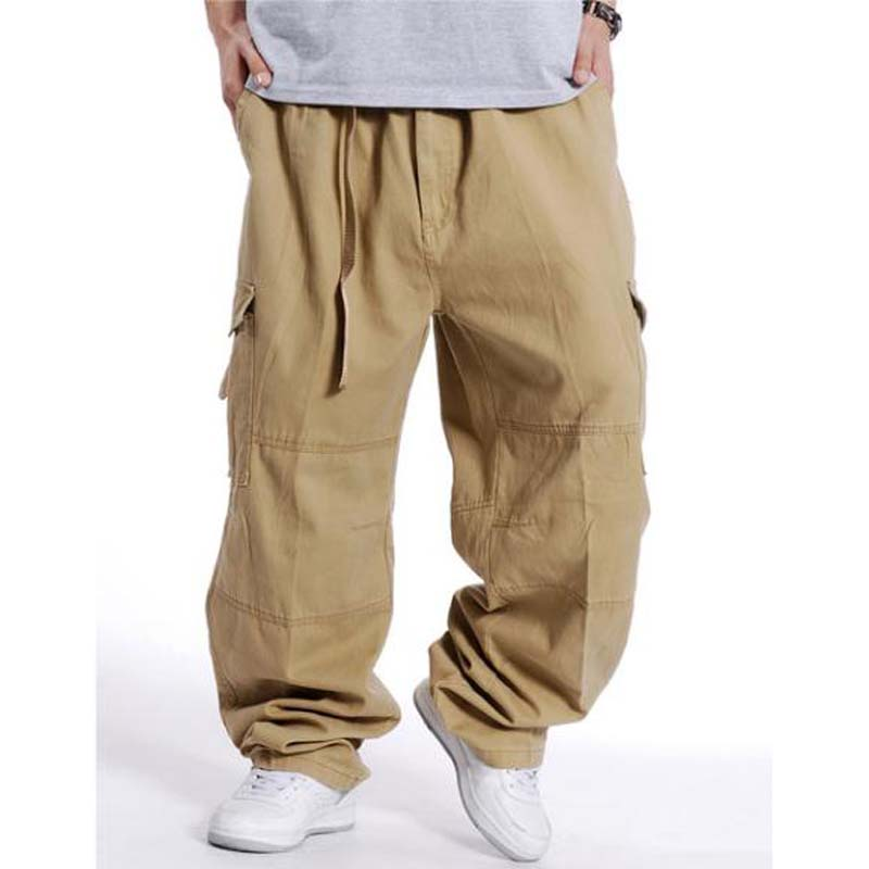 582deffad5c Xl extra large men pants loose overalls plus size man cargo pants jpg  800x800 Fat man