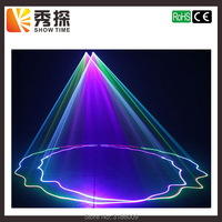 Лидер продаж 2 объектива Красный зеленый голубой RGB лазерный луч света DMX 512 Профессиональный DJ вечерние Show клуб праздник дома бар освещение
