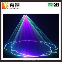 Лидер продаж 2 объектива Красный зеленый голубой RGB лазерный луч света DMX 512 Профессиональный DJ вечерние Show клуб праздник дома бар освещение сцены