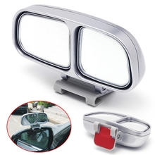 Auto Wide Angle Left Rear Mirror Side View Car Universal Blind Spot Square Mirror 1Pc MAY18_25
