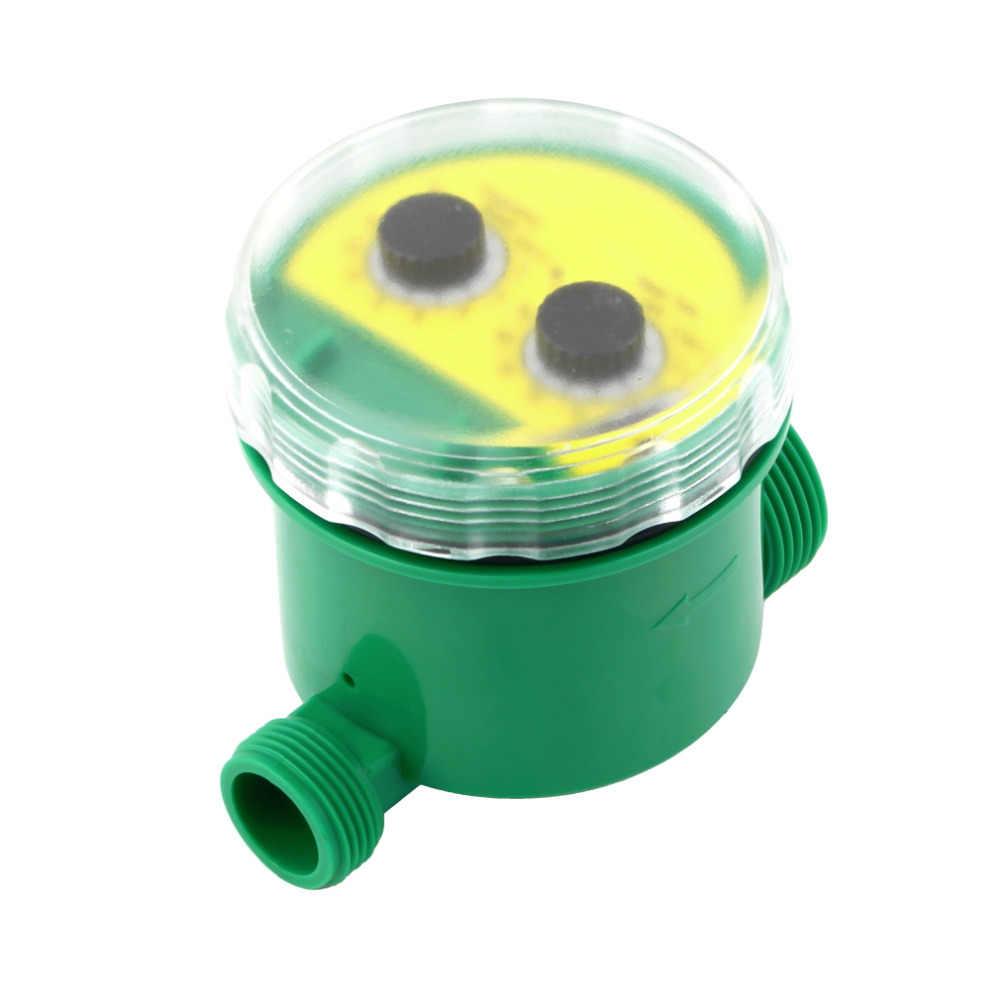 Proszę kliknąć na zielony wersja angielska wyświetlacz LCD domu cyfrowy elektroniczny inteligencja czasowy wyłącznik przepływu wody ogrodowy sterownik nawadniania programów wodnych systemu