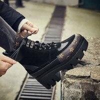 МОДА ботинки женские из натуральной кожи женские повседневные ботинки на шнуровке женская обувь из коровьей замши женские ботильоны на ква