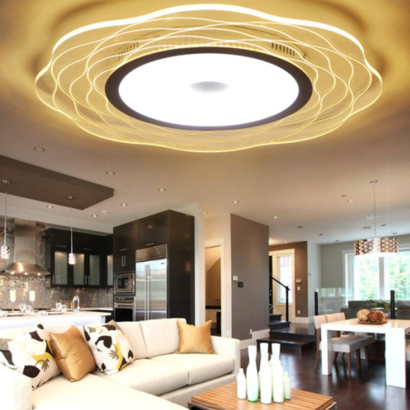 Ultra-thin Led Ceiling Lights Circular Acrylic Living Room Bedroom Hotel Hall Hangling Lamp Modern Ceiling Lamp Free Shipping Ultra-thin Led Ceiling Lights Circular Acrylic Living Room Bedroom Hotel Hall Hangling Lamp Modern Ceiling Lamp Free Shipping