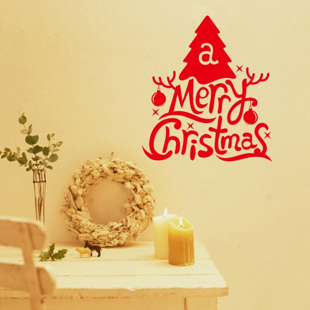 Nice Christmas Wall Decoration Ideas Ideas - The Wall Art ...
