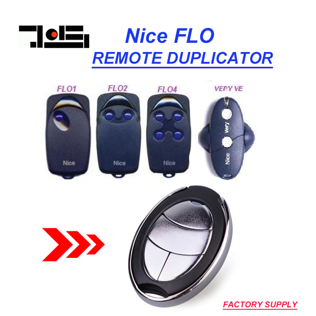 Aftermarket NICE FLO1, FLO2, FLO4 Remote Control fixed code
