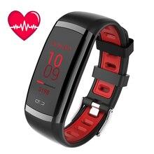 Купить с кэшбэком CD09 Smart Watch Activity Tracker Blood Pressure Monitor Wristband Bluetooth4.0 Waterproof Sport Bracelet 0.96 Inch Color Screen
