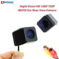 HaiSunny 1280*720P Starlight Night Vision IP68 Waterproof MCCD 6 layer Glass lens Car reversing Backup Rear View Camera