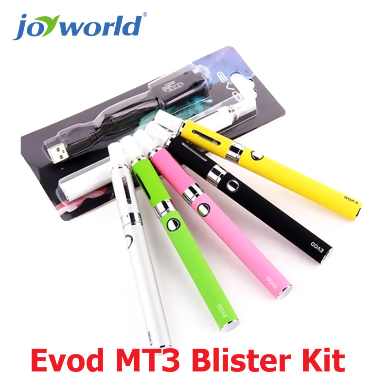China electronic cigarette distributor Evod MT3 Blister Kit ego start blister kit e cigarette ego mt3 atomizer evod 15pcs (MM)