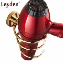 Лейден держатель для фена античная латунь/золото держатель для фена держатель стойки настенный медный спиральный аксессуары для ванной комнаты