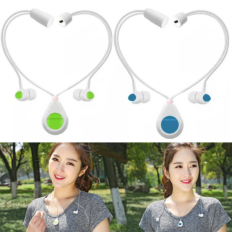 Sport Headset Bluetooth 4.0 Wireless Mini Magnet Earphone with Mic Necklace Handsfree for iPhone 7 Plus Samsung S7  GD high quality 2016 universal wireless bluetooth headset handsfree earphone for iphone samsung jun22