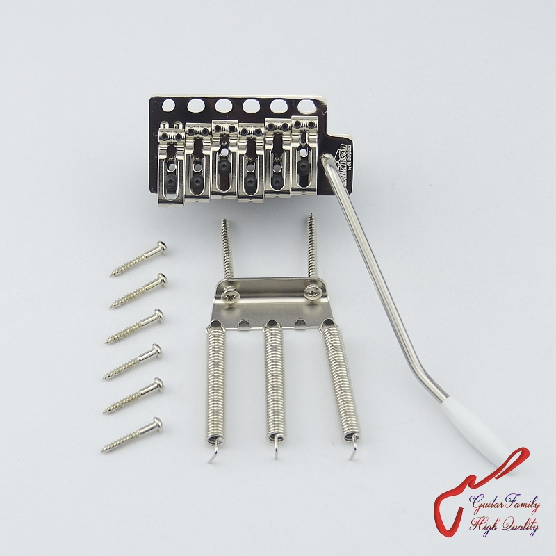 Genuine Original GOTOH Wilkinson VSVG Electric Guitar Tremolo System Bridge ( Nickel ) MADE IN JAPAN цена