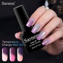 Sarness Thermo Chameleon Gel Nail Polish Temperature Change UV Gel Lacquer Hybrid Varnish Semi Permanent Gel Polish Manicure