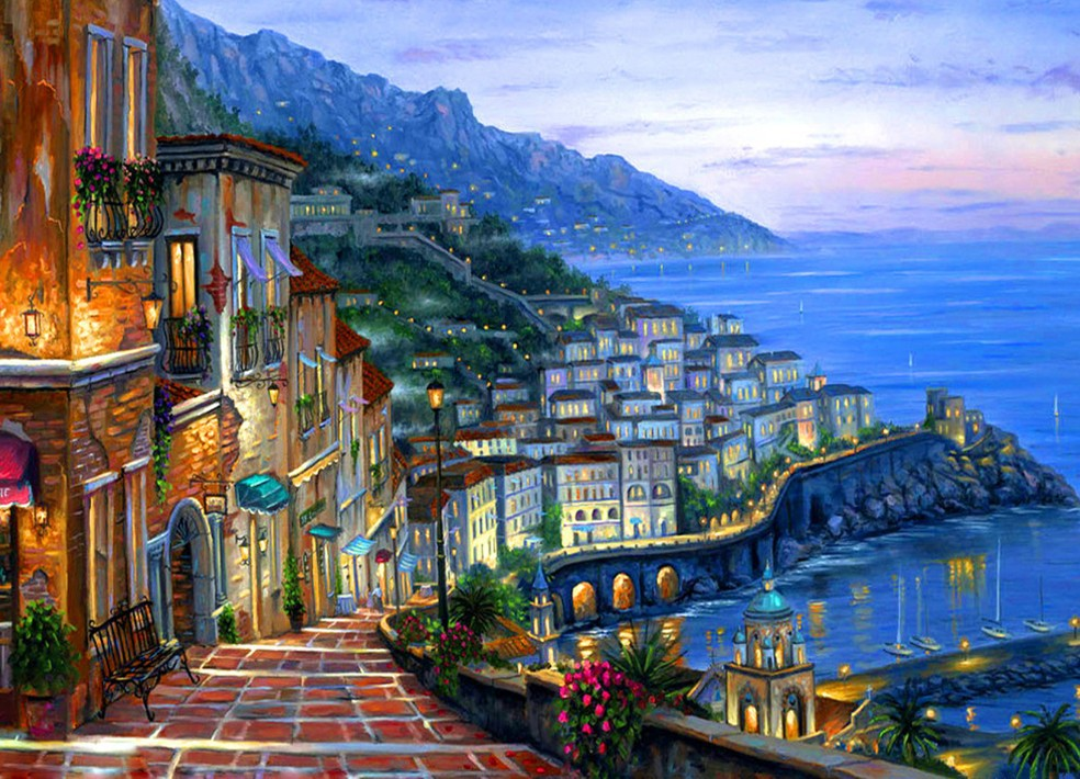 Arts And Crafts Landscape Painting
