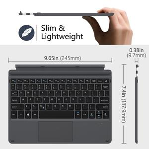 Image 3 - غطاء من نوع MoKo لجهاز Microsoft Surface Go ، خفيف الوزن فائق النحافة سماعة لاسلكية تعمل بالبلوتوث مع كابل شحن Micro USB