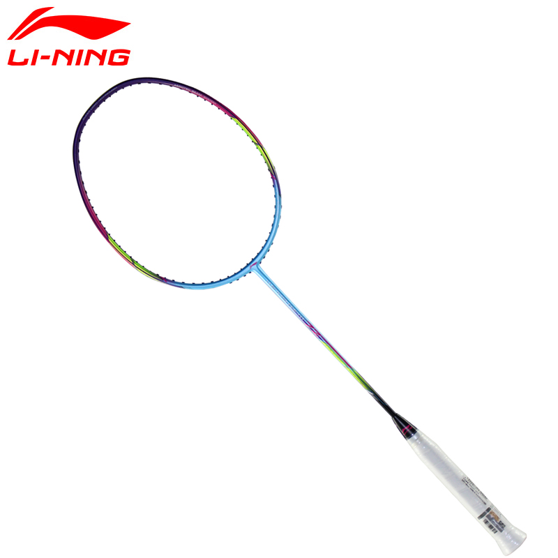 Li-Ning WINDSTORM 72 Badminton Rackets Single Racket Professional Carbon Fiber LiNing Rackets AYPM084 ZYF198 original li ning men professional basketball shoes
