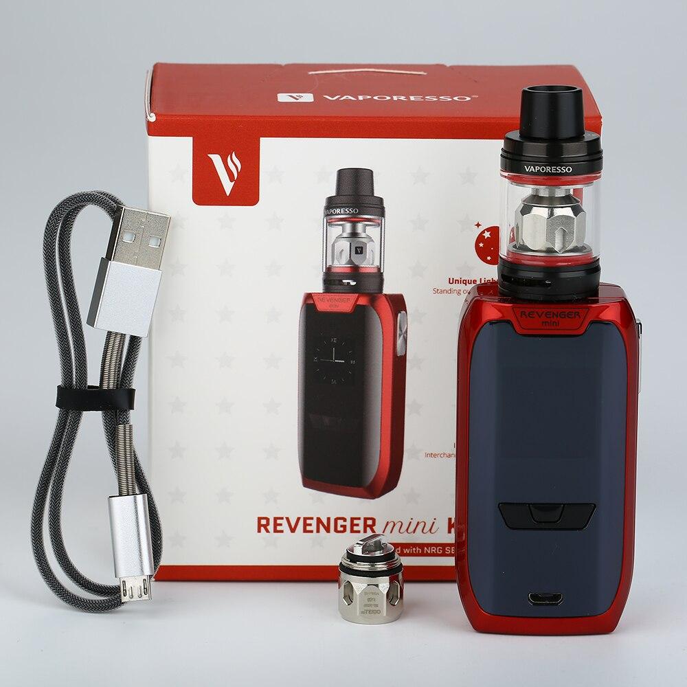 D'origine Vaporesso Vengeur Mini Kit 85 W avec 3.5 ml/2 ml NRG SE réservoir Atomiseur et Intégré 2500 mAh Batterie 0.96 Pouce OLED Vaporisateur Kit - 6