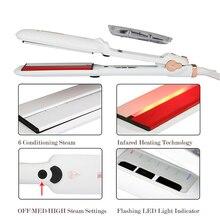 Infrared Steam Hair Straightener