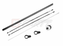 Ormino Gartt 450L Torque Tube Tail Boom(Black) Set for Trex 450L Helicopter