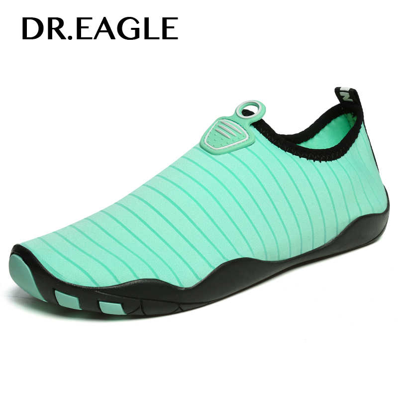 Dr.eagle Men Aqua shoes for water Summer Footwear Barefoot Skin Sneaker Shoes for swimming pool shoes women swim beach shoes