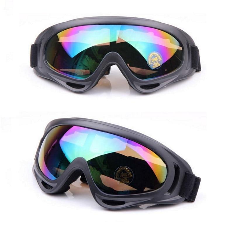 Prix pour Hommes Femmes Lunettes de Ski pour L'hiver Snowboard Motoneige Traîneau lunettes de Soleil Cyclisme Googles Moto Coupe-Vent AIRSOFT Lunettes