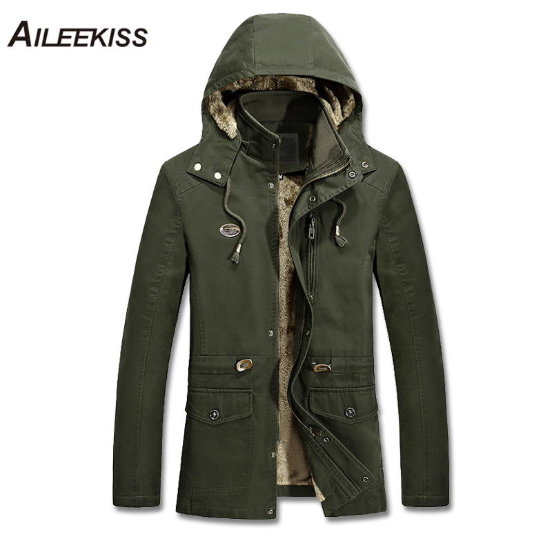 2018 Men Casual Solid Thick Hooded Jacket Winter Autumn Man Warm Coat 4XL 5XL Plus Size Male Windbreaker 100%Cotton Jacket XT480 все цены