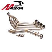 Мотоцикл выхлопной свяжитесь с трубы для honda CBR650F CBR650 2013 2014 2015
