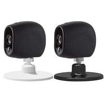 Gosear 360 Grad Rotation Magnetische Wand Montieren Desktop Halterung Halter Basis Stehen für Nest Cam IQ Arlo Sicherheit Kamera