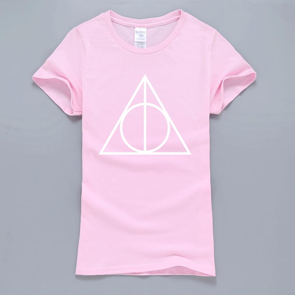 2019 Hot Sale Hogwarts Women T Shirt Summer Hipster T-Shirt Short Sleeve Round Neck T-Shirts Harajuku Tops Tee Tee Shirt Femme